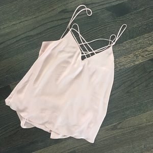 Express criss cross front camisole
